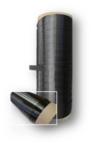 Querwicklung beim Spulentyp Cardboard core